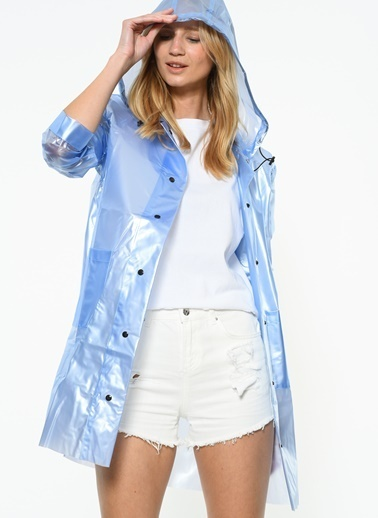 Glamorous Pardesü Mavi